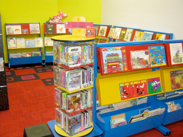 Eudunda Library redeveloped Children's Reading Area