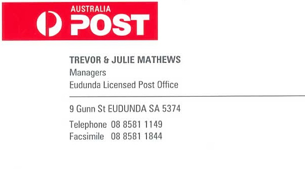 Eudunda Post Office