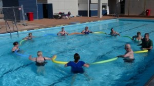 Eudunda Swimming Pool Aqua Aerobics in 2013