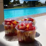Best fruit salad at the Eudunda Swimming Pool