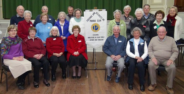 Probus Attendees May 2015
