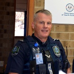 New Police Officer for area