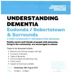 Understanding Dementia – Free Session 26th Aug 2015