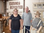 KESAB Judging Greg Post with Alex Hammett at Eudunda Heritage Gallery 2015
