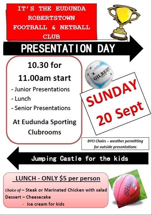 Saints Presentation Day 20th Sept 2015