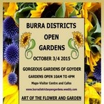 Burra and Districts Open Gardens 3-4 Oct 2015