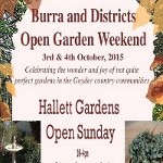 Hallett and Burra Open Gardens