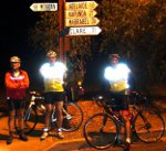 24hr Cycle Riders stop to talk