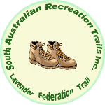 South Australian Recreation Trails Inc (SARTI) Logo