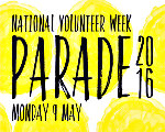 National Volunteer Week parade - 9th May 2016