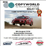 2016 Copyworld Walky 100 - 6th Aug at Robertstown