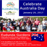 Australia Day Breakfast Eudunda 2017 Banner