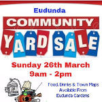 Eudunda Community Yard Sale - 26th March 2017 - Banner