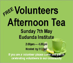 ECBAT Volunteer Afternoon Tea 7th May 2017