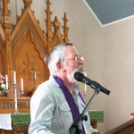Bower Church Service 12 Mar 2017 - Pastor Chris Georg - taking the service