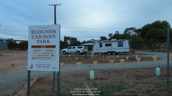 Eudunda Caravan Park Welcome - With First Vans
