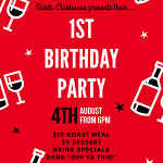 Saints Clubhouse 1st Birthday Party 4th Aug 2017