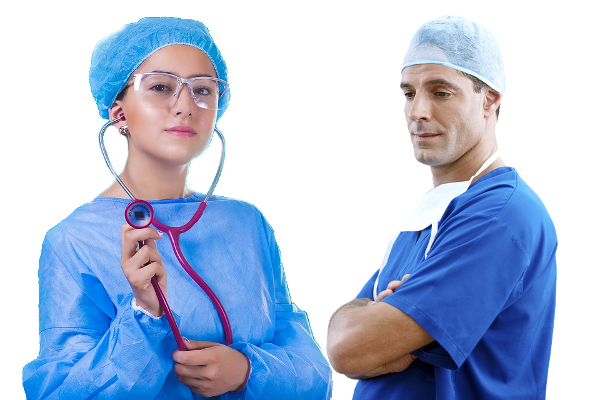 Female & Male Nurses