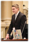 Samuel Doering Addressing the Youth Parliament 2017Samuel Doering Addressing the Youth Parliament 2017
