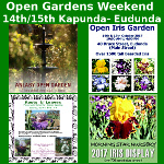 Eudunda & Kapunda Open Gardens 14-15th Oct 2017