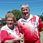 Andrew Pfitzner presented Deadra Leditschke with Life Member Award of Eudunda Bowling Club - profile