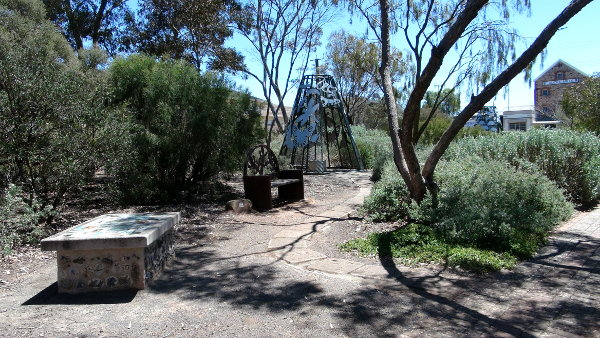 Eudunda Gardens - part of the Kids Scrub play area