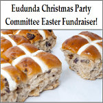 Eudunda Street Party Fundraiser - Hot Cross Buns