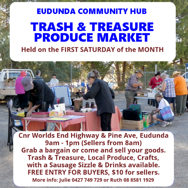 Eudunda Community Hub - General Market Flier