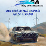 AGL Rally of the Heartland - June 1st, 2nd & 3rd 2018 Flier
