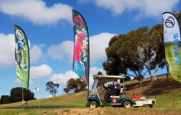 Bistro, Buggy thumbs up on No 4 Eudunda Golf Course