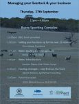 Dry Season workshop 27th Sept 2018 - Burra