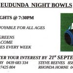 Eudunda Night Bowls 2018
