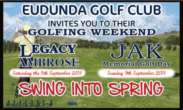 Legacy & JAK Weekend 8th 9th Sept 2018 Banner