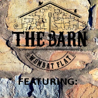 The Barn at Wombat Flat - featuring Background