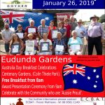 Australia Day Free Breakfast Eudunda 2019 - All Welcome