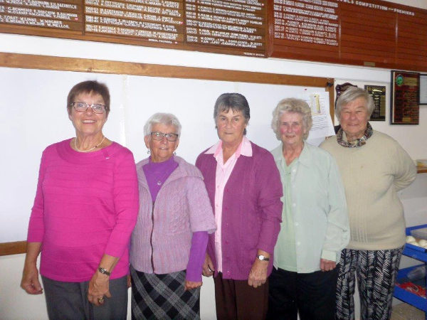 Ladies winners 2019
