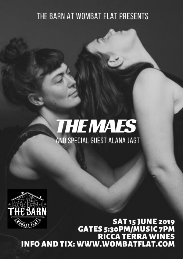 The Maes and special guest Alana Jagt - full poster