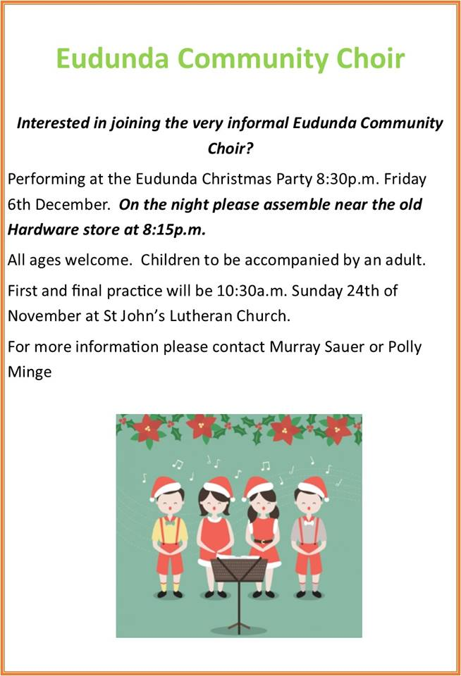Eudunda Community Choir - 6th Dec 2019