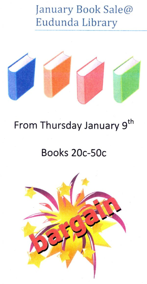 Eudunda School Community Library - January 2020 BOOK SALE