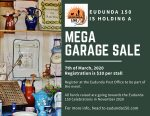 Mega Garage Sale 7th Mar 2020