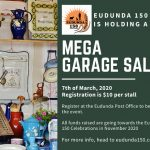 Eudunda Mega Garage Sale for 7th March 2020