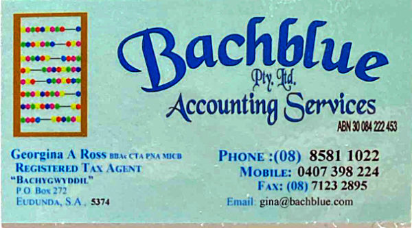 Backblue Pty Ltd Accounting Services
