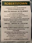 Kick the Drought in the Bowls - Robertstown Bowling Club - 18th Oct 2020