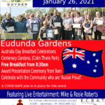 All Welcome – Australia Day Breaky – Eudunda 26th Jan 2021