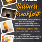 Business Breakfast At Eudunda – FREE Wed. June 23rd From 7am