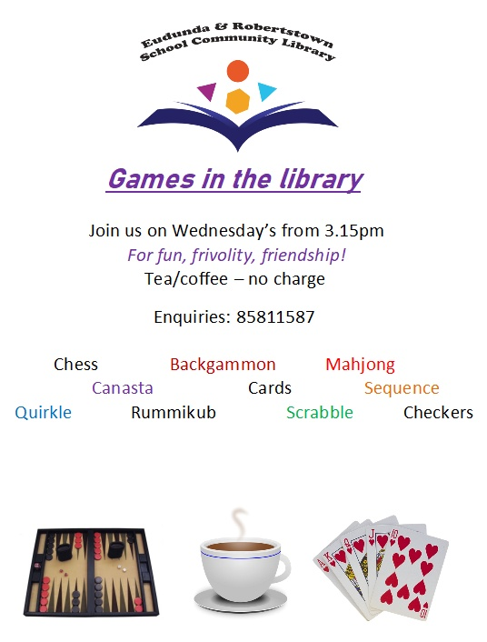 Games in the Library - Eudunda